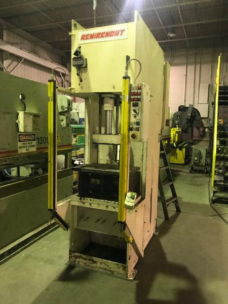 USED REMIREMONT 20 TON, PHC 20 VAR, HYDRAULIC C-FRAME PRESS, 2000, Stock No. 10584