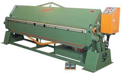 12 Ga x 10 ft., New Chicago Hydraulic Folding Brake, Model HSB 1012