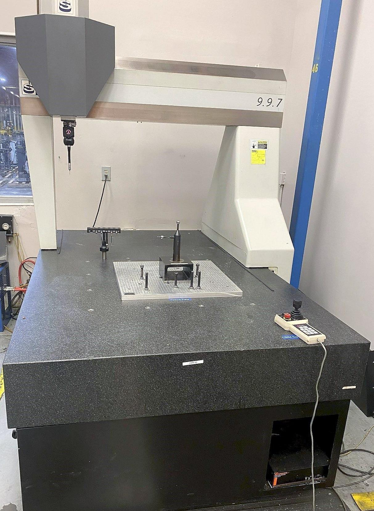 """SHEFFIELD ENDEAVOR 9.9.7 COORDINATE MEASURING MACHINE, Computer/Monitor Included, Travels X=35.4"""" / Y=35.43"""" / Z=26"""", Renishaw PH-10T Probe Head, Probe Change Rack, New 2005."""
