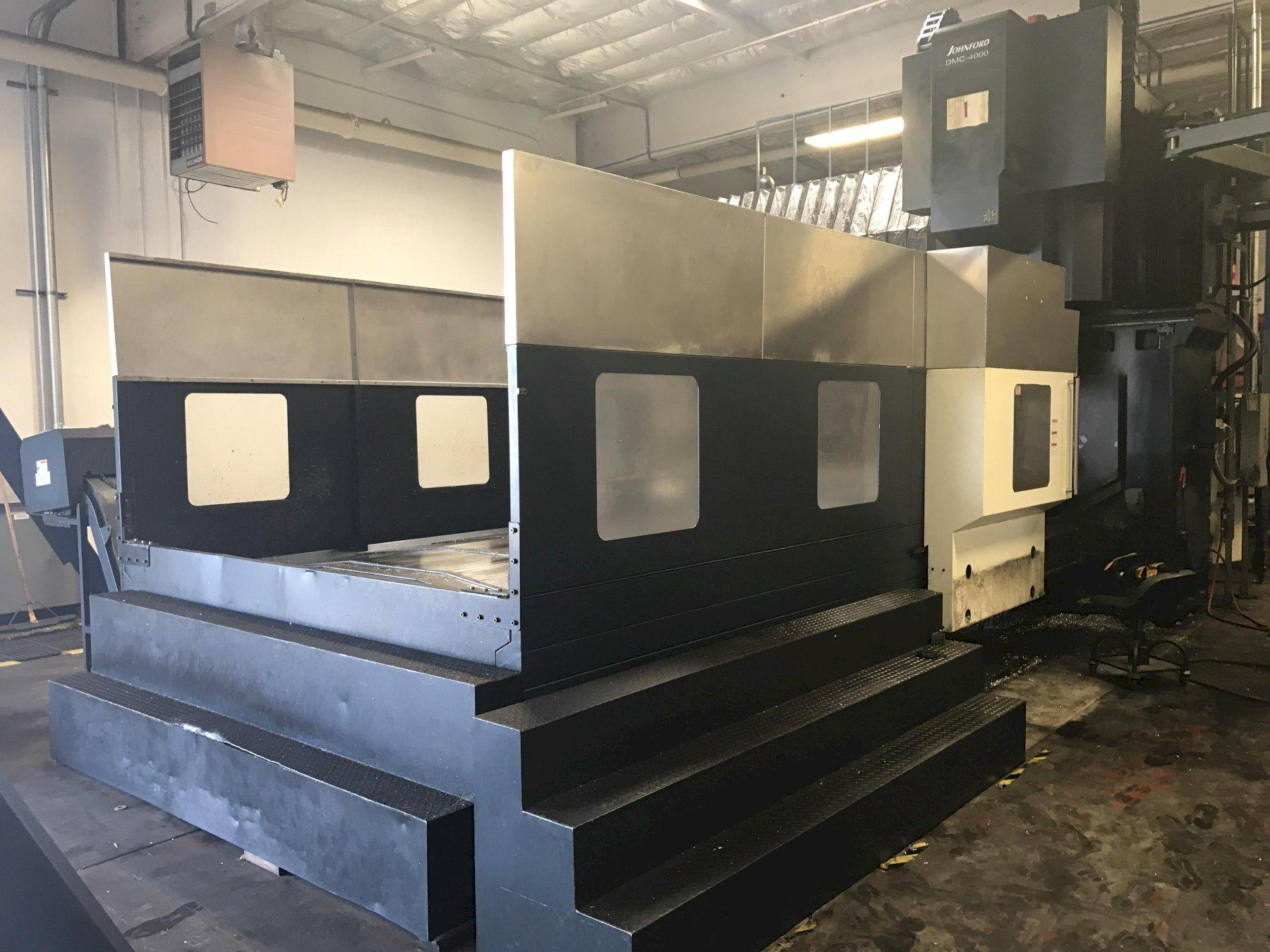 Johnford DMC4000/2800 CNC Bridge Style Vertical Machining Center, Fanuc 18i Control, 158