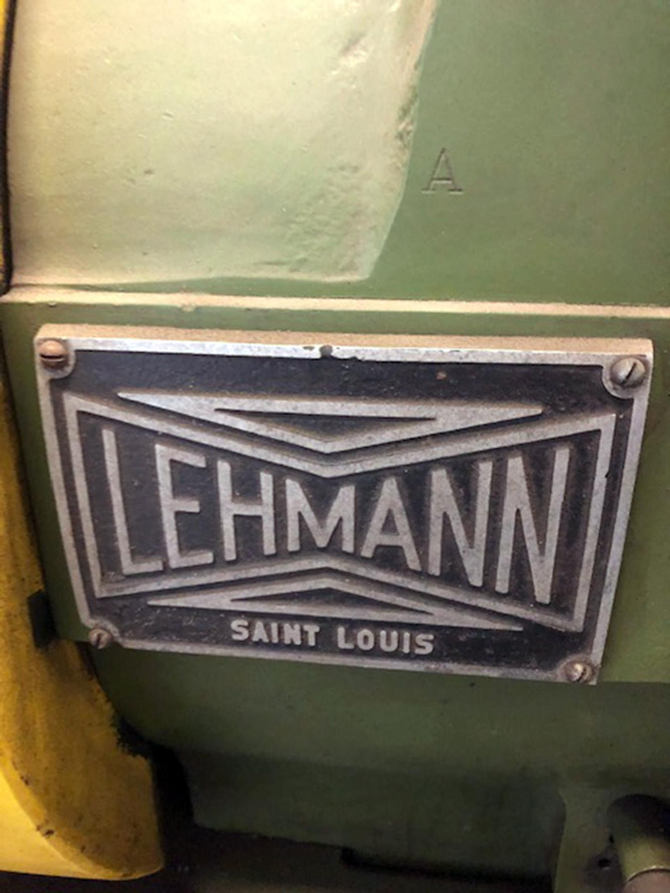 """USED, 27"""" X 80"""" LEHMANN HOLLOW SPINDLE LATHE WITH 9"""" SPINDLE BORE"""