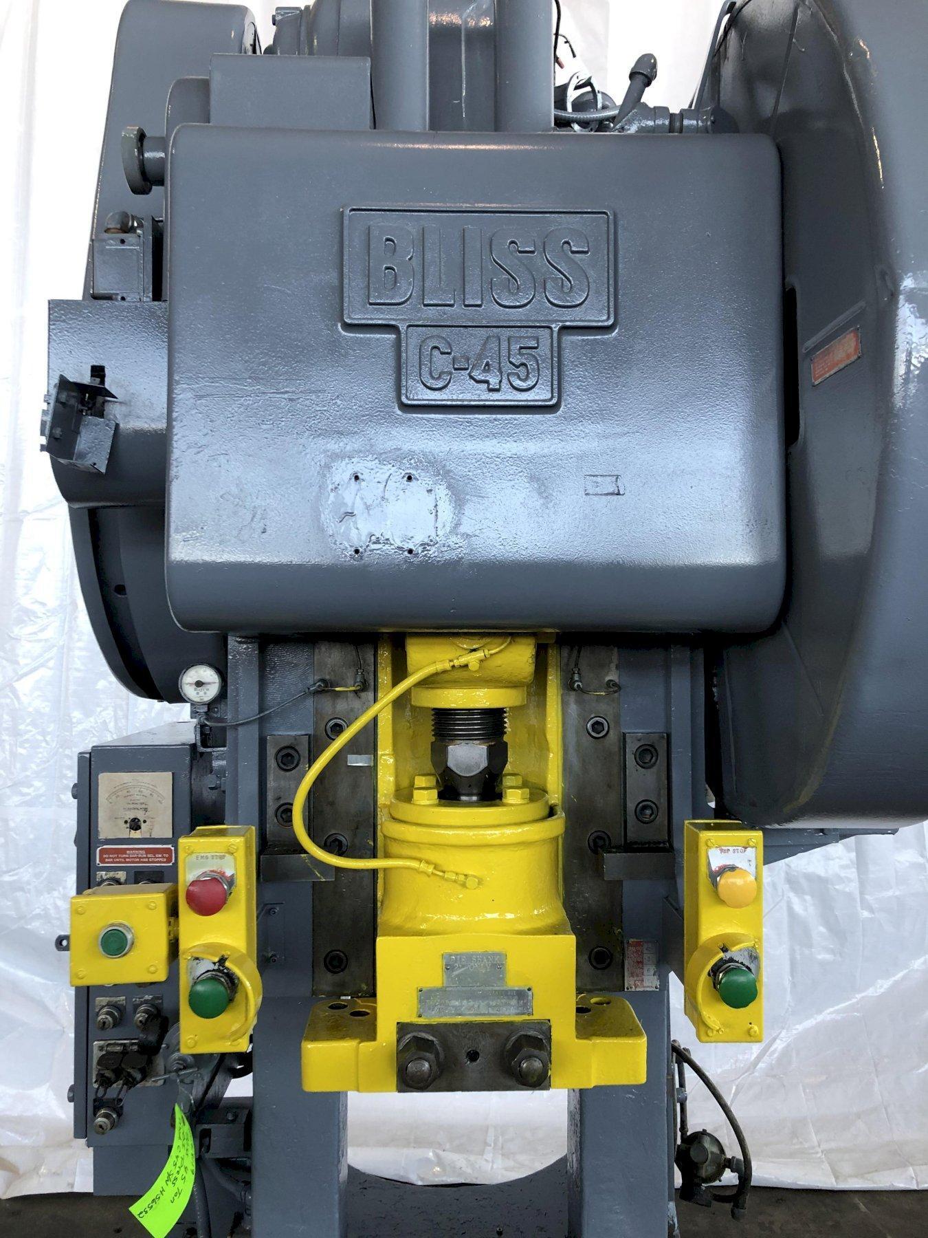 45 Ton Bliss OBI Press