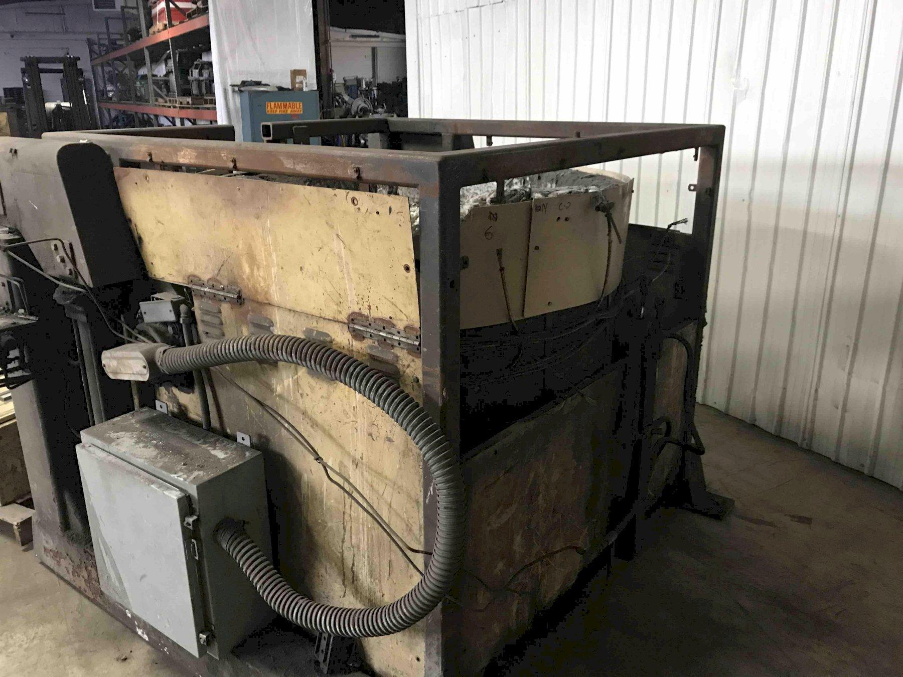 THERMTRONIX TR-1200 ELECTRIC RESISTANCE TILTING FURNACE WITH CONTROLS