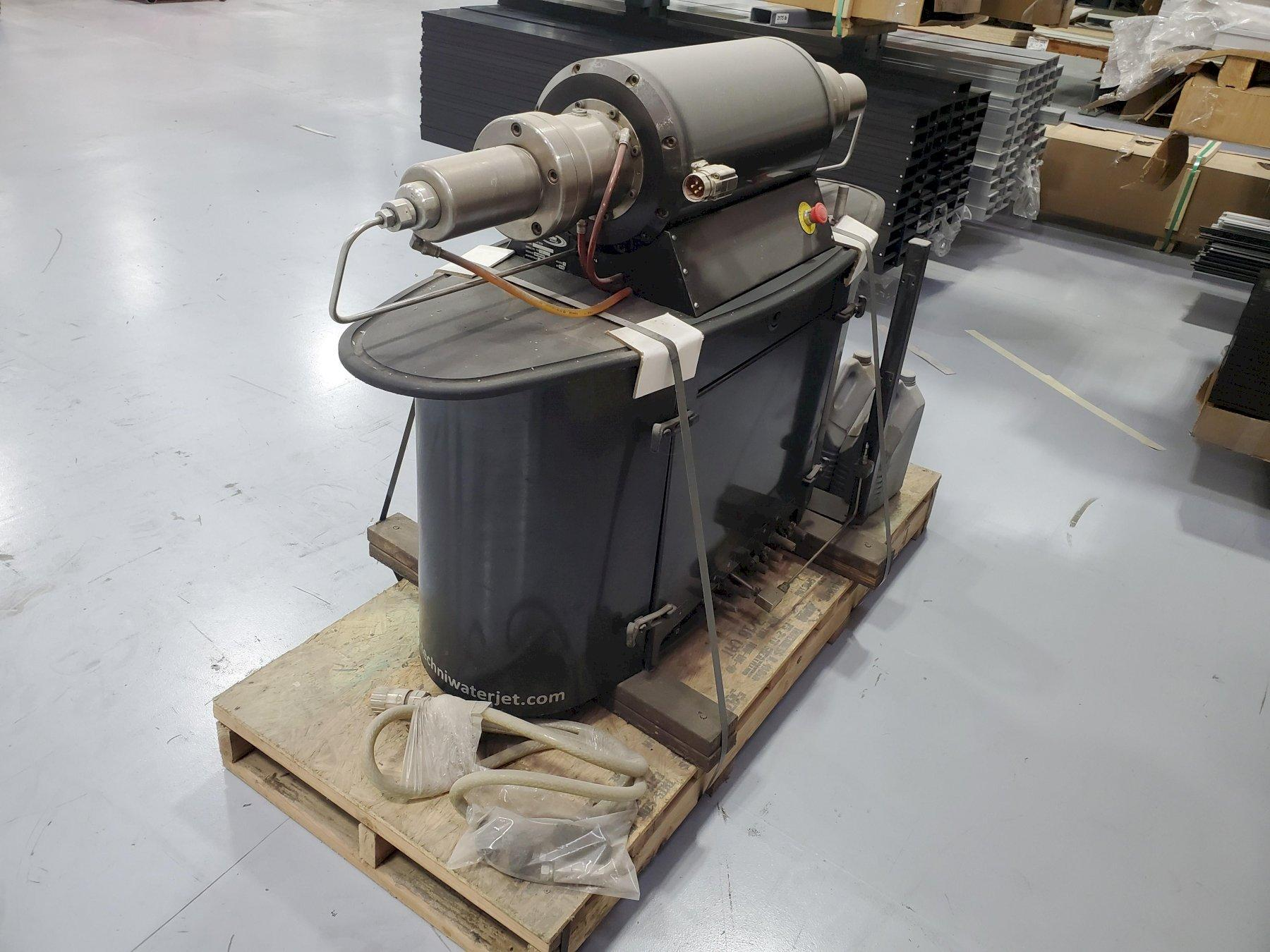 USED TECHNI MODEL ESP 55 ELECTRIC SERVO WATERJET PUMP, 55,000 PSI, Year 2010, Stock #10713