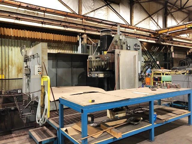 "Blanchard #48HD-96, 96"" Geared Head Vertical Spindle Rotary Surface Grinder, 250 HP, Re-manufactured-12/2018, 780 Hrs."