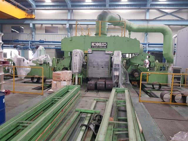 "17"" (435mm) 4 HI Copper Reversing Mill"