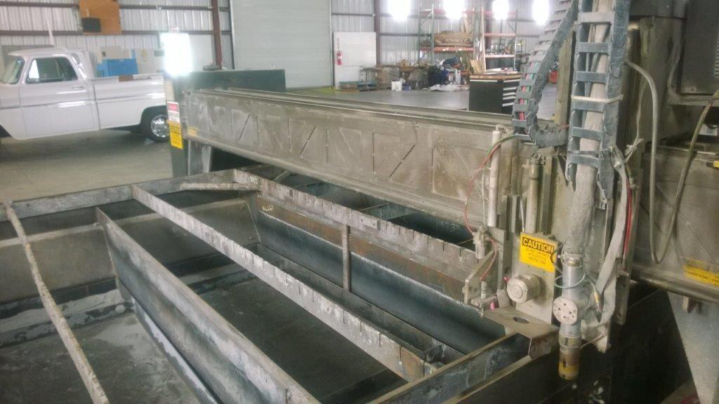 10' x 32' Multicam Series 6000 Hypertherm HPR130 CNC Plasma Table. STOCK # 1801820