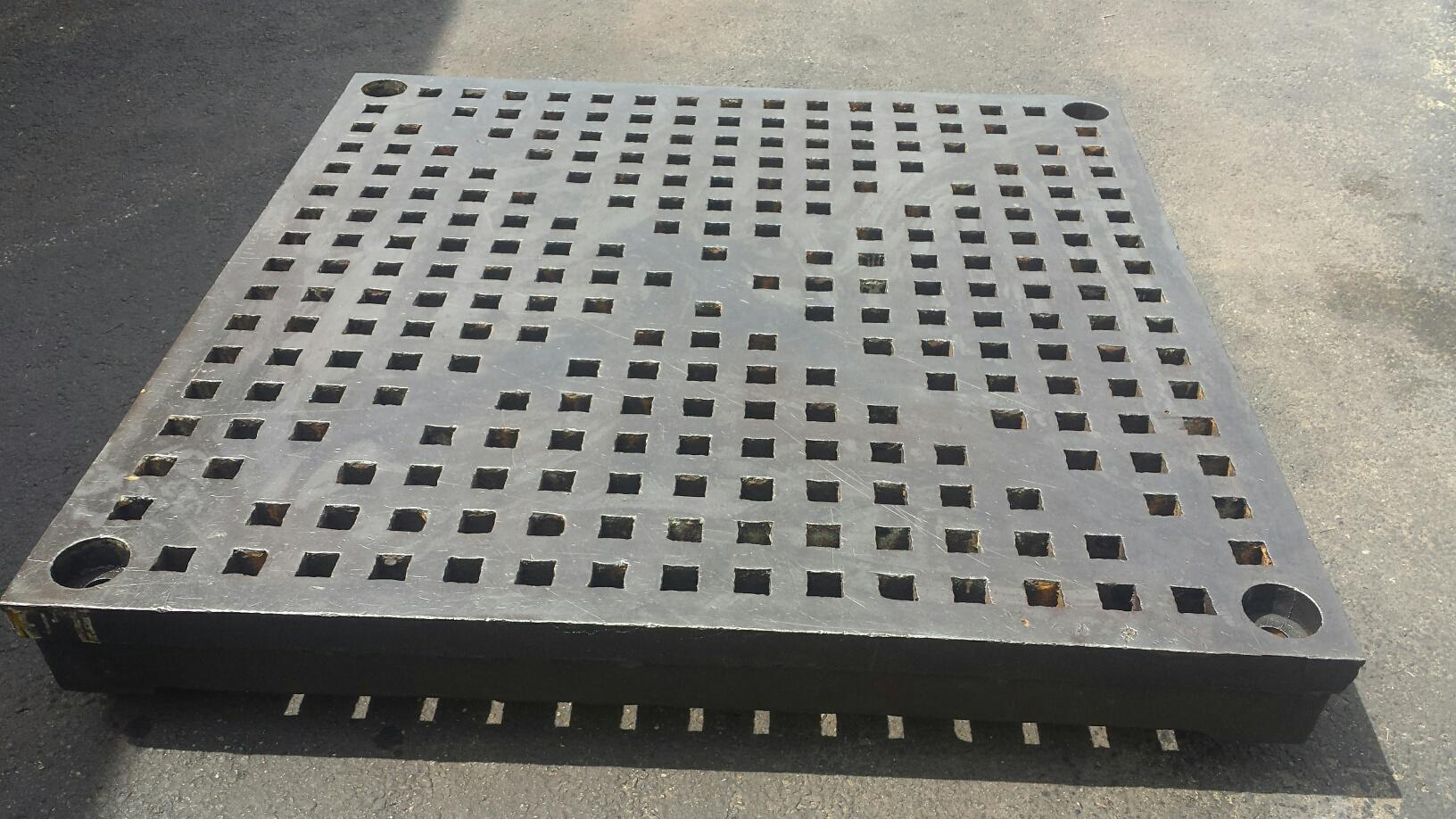 5' x 5' Cast Iron Welding Platen