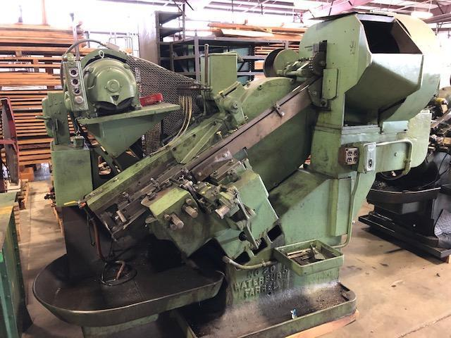 "3/8"" Waterbury Model #20 Heavy Frame Automatic Incline Thread Roller"