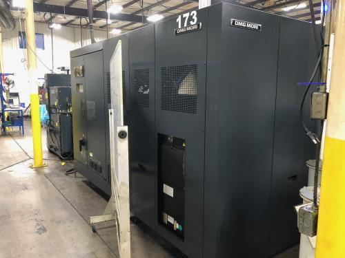 DMG Mori Seiki NZX 1500/800 SY CNC Lathe