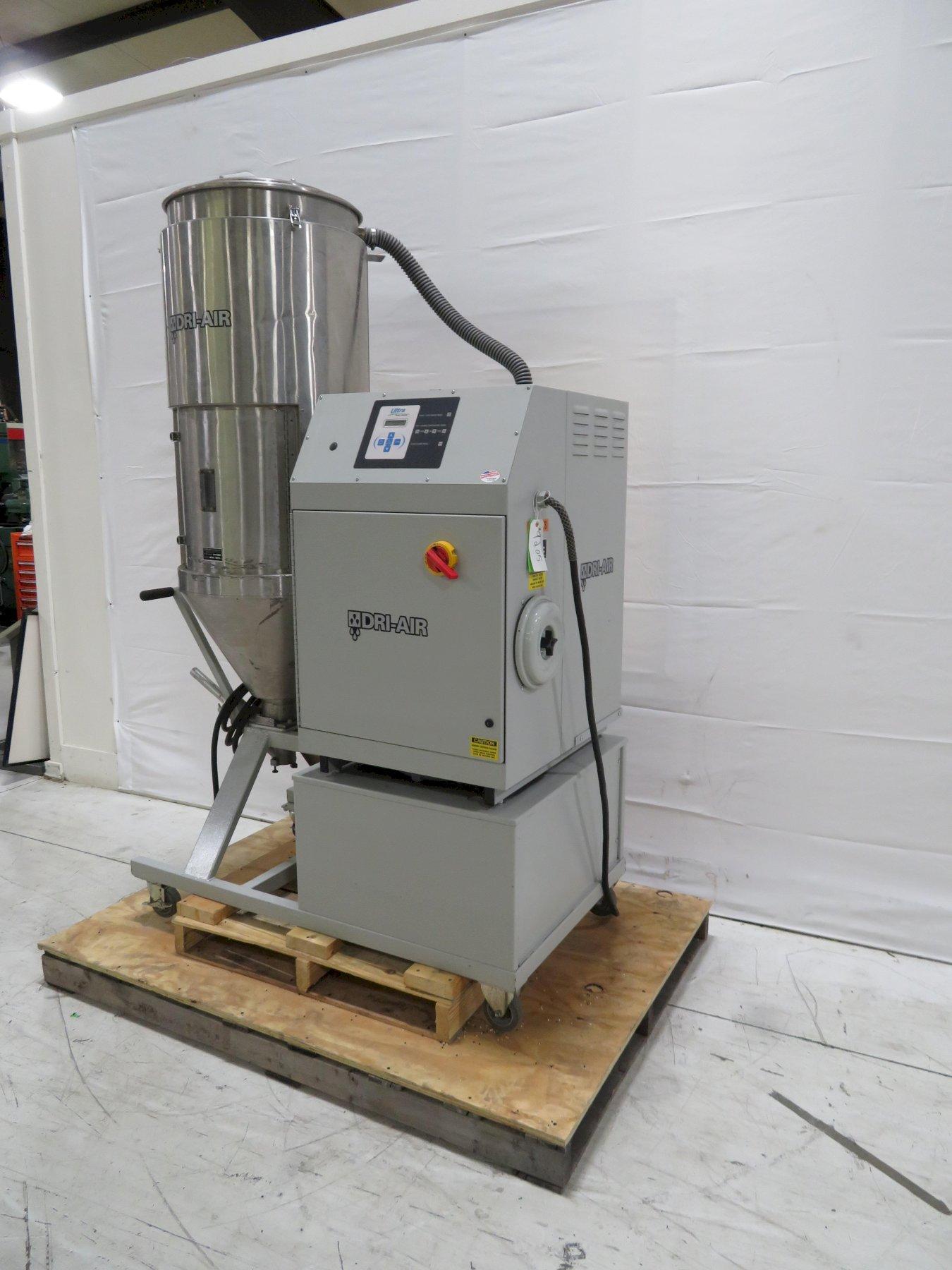 Dri-Air Used APD-8 / RH300  Material Dryer, Dessicant, Approx 90 lbs/hr, 230V, Yr. 2015