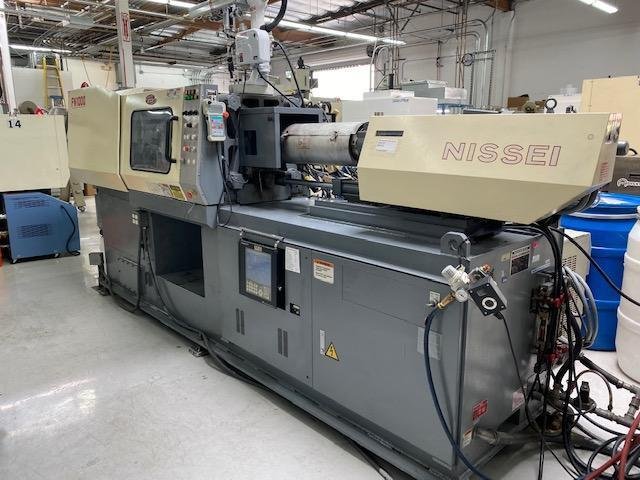 Nissei Used FN1000-12A Injection Molding Machine, 89 US ton, Yr. 2000, 3.4 oz.
