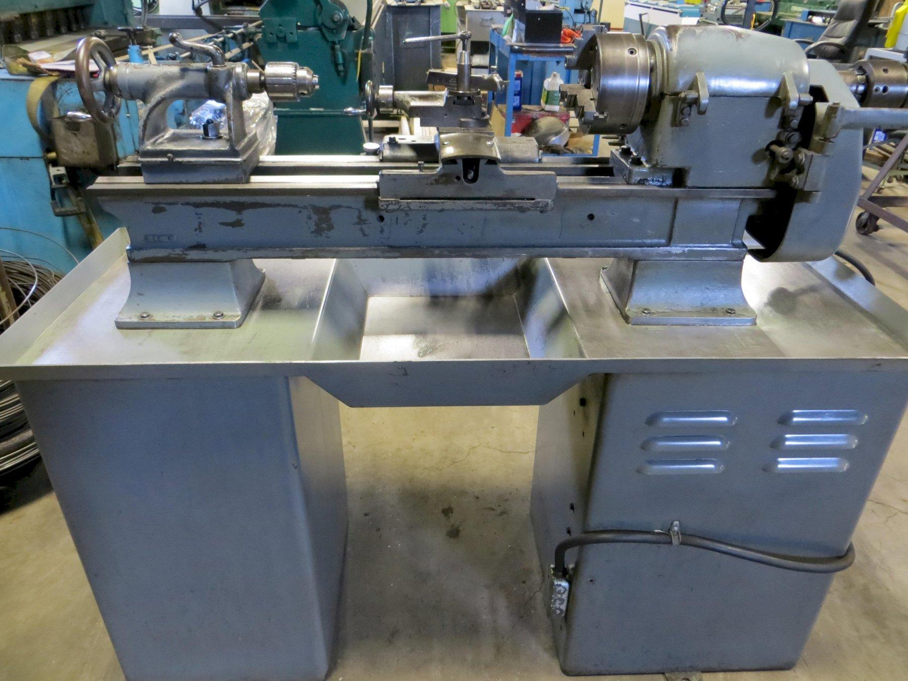 "11"" x 24"" Logan Lathe Model 1955"