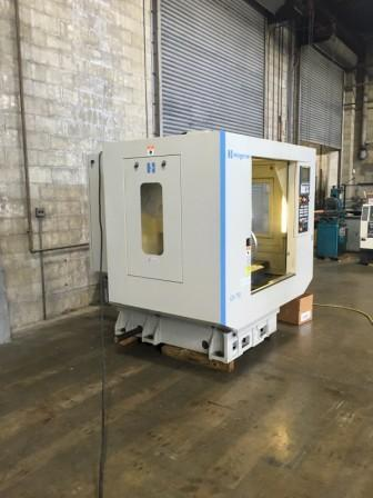 "HARDINGE GX-710, Fanuc 0i-MD CNC Control ,Table 31.5""x 15.8"", X= 28"", Y= 16"", Z=17"", 10,000 RPM, Cat 40, 20 ATC, 20 H.P, New 2013."