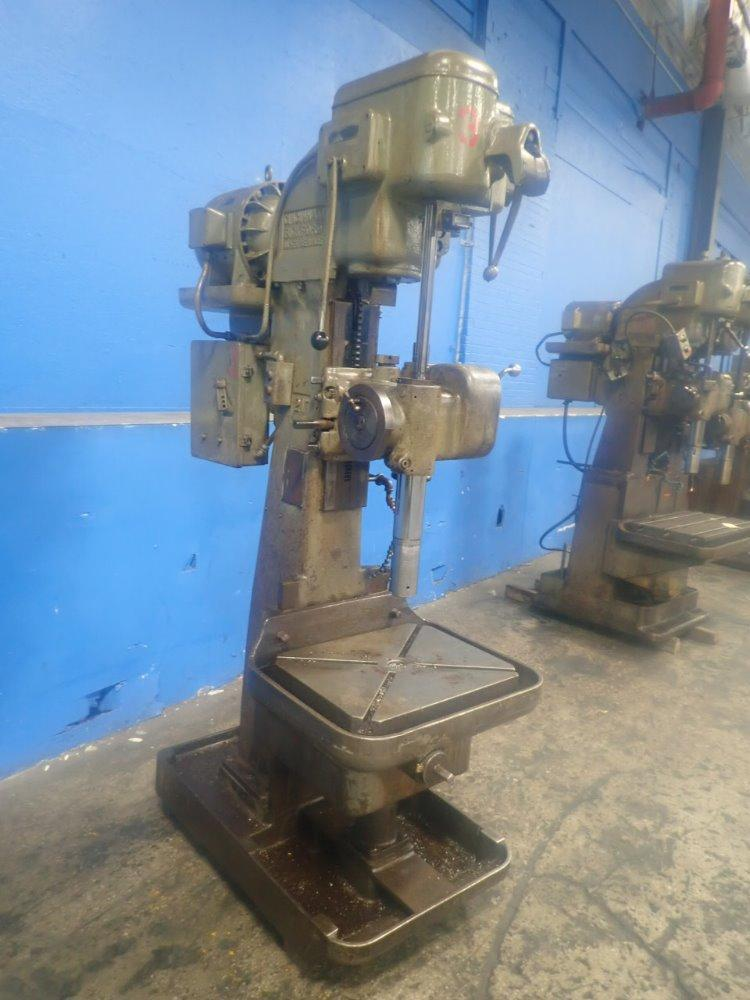 "21"" CINCINNATI BICKFORD SINGLE SPINDLE DRILL: STOCK #13200"