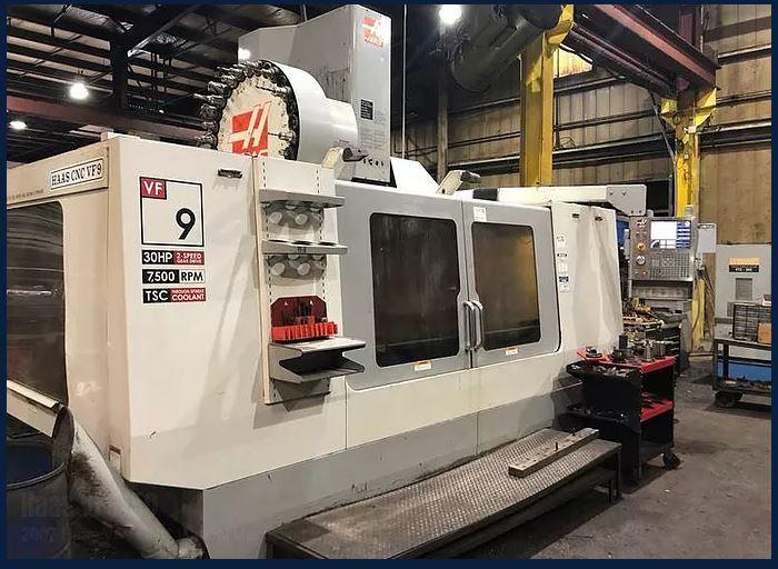 Haas VF-9/50 CNC Vertical Machining Center