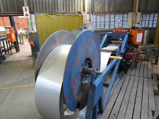 "20"" (504mm) x 3mm Wall Spiral Weld Tube Mill"