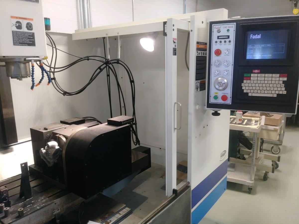 Remanufactured FADAL VMC-4020HT - Vertical Machining Center