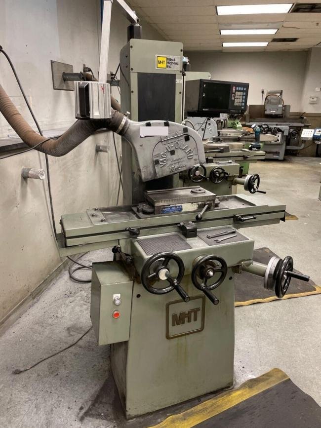 """Mitsui Used MSG-200MH Precision Hand Feed Surface, 6"""" x 12"""", Yr. 1992"""