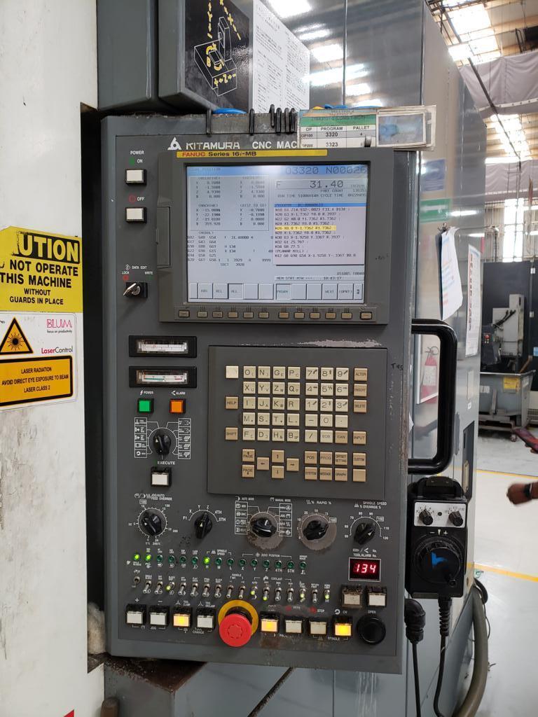 Kitamura MyCenter HX400iF CNC Horizontal Machining Center