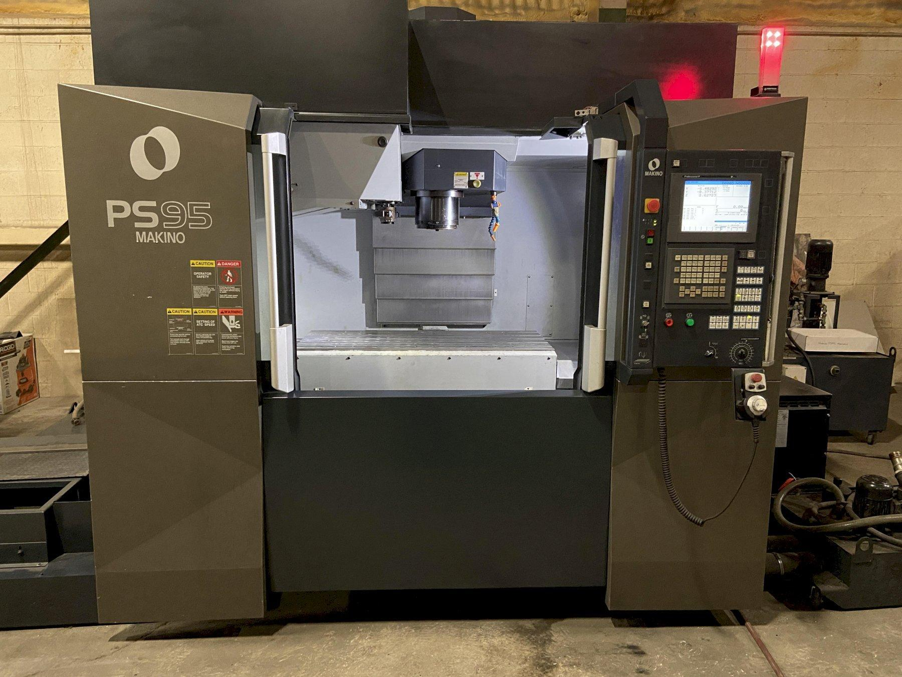 Makino PS95 CNC Vertical Machining Center, Fanuc Pro P Control, 36