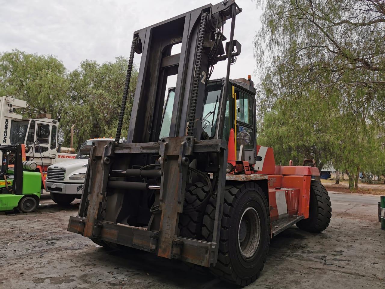 25 Ton Kalmar Forklift / Coil Lift Truck- Year 2009 K2