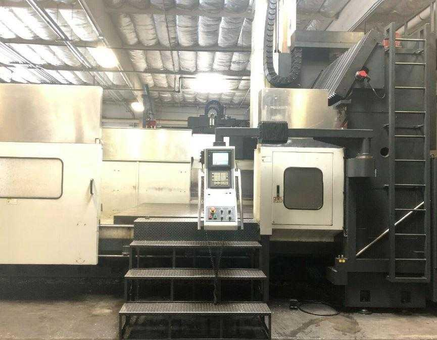 Mighty Viper PRW-5340 Bridge-Style CNC Vertical Machining Center, Fanuc 21iB Control, 201