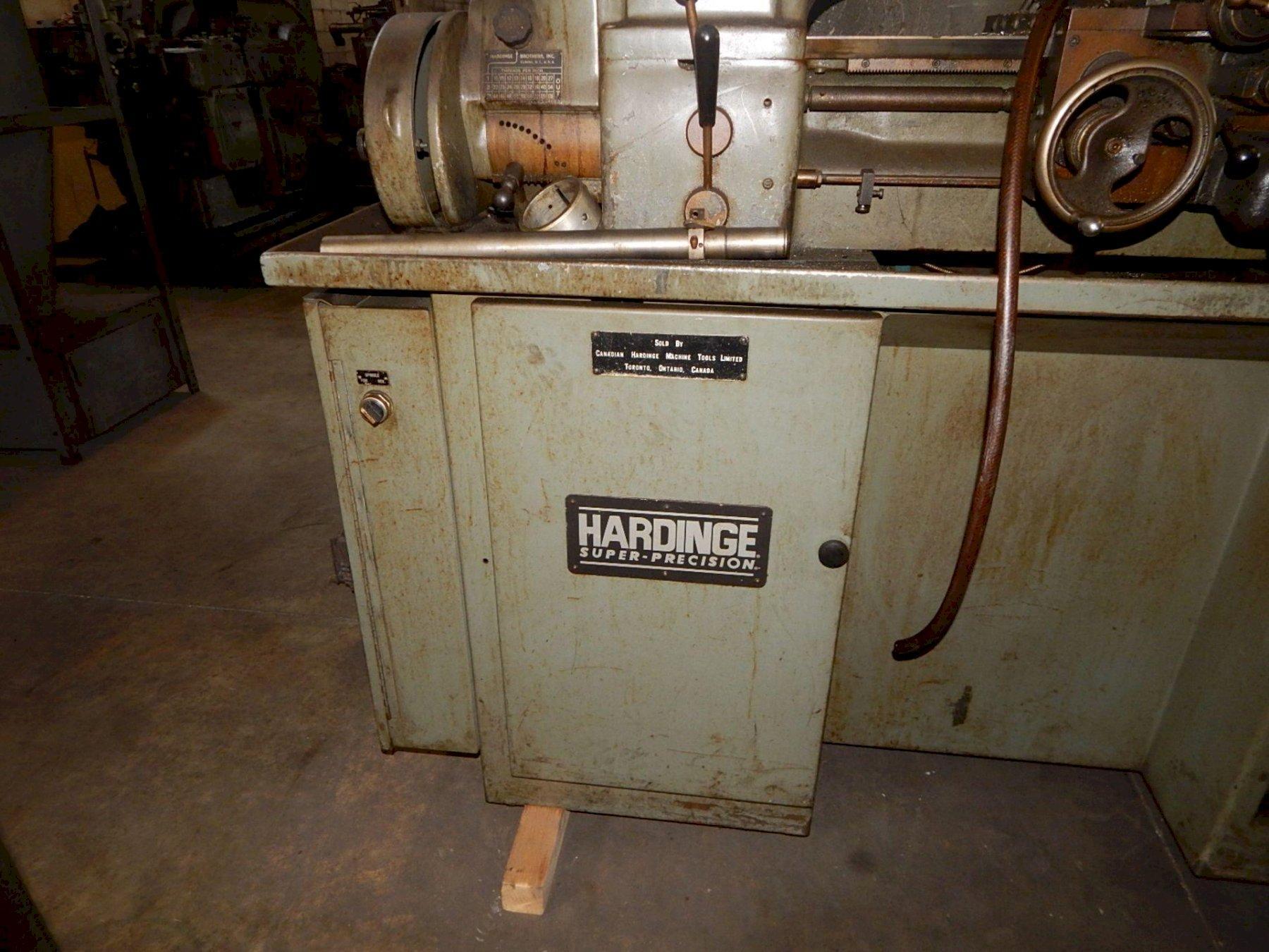 Hardinge HLV-H  Super-Precision Tool Room Lathe