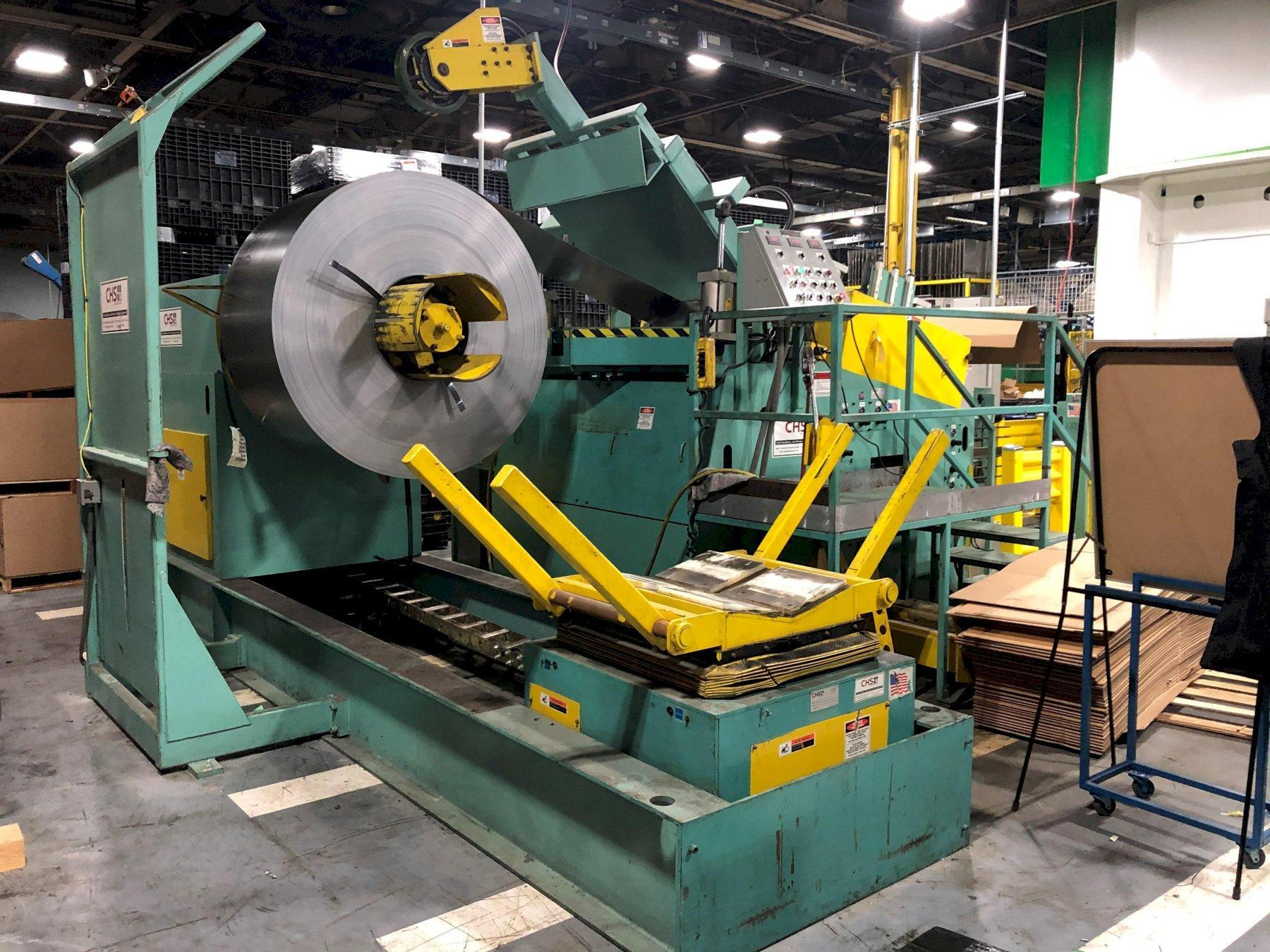 CHS Automation Conventional Coil Feed Line 20,000 Lbs. x 48
