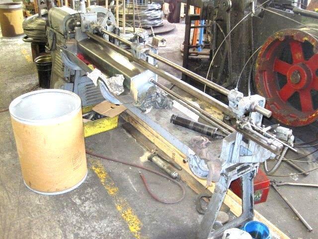 """3/16""""  Lewis 2C3 Wire Straighten & Cut Machine"""