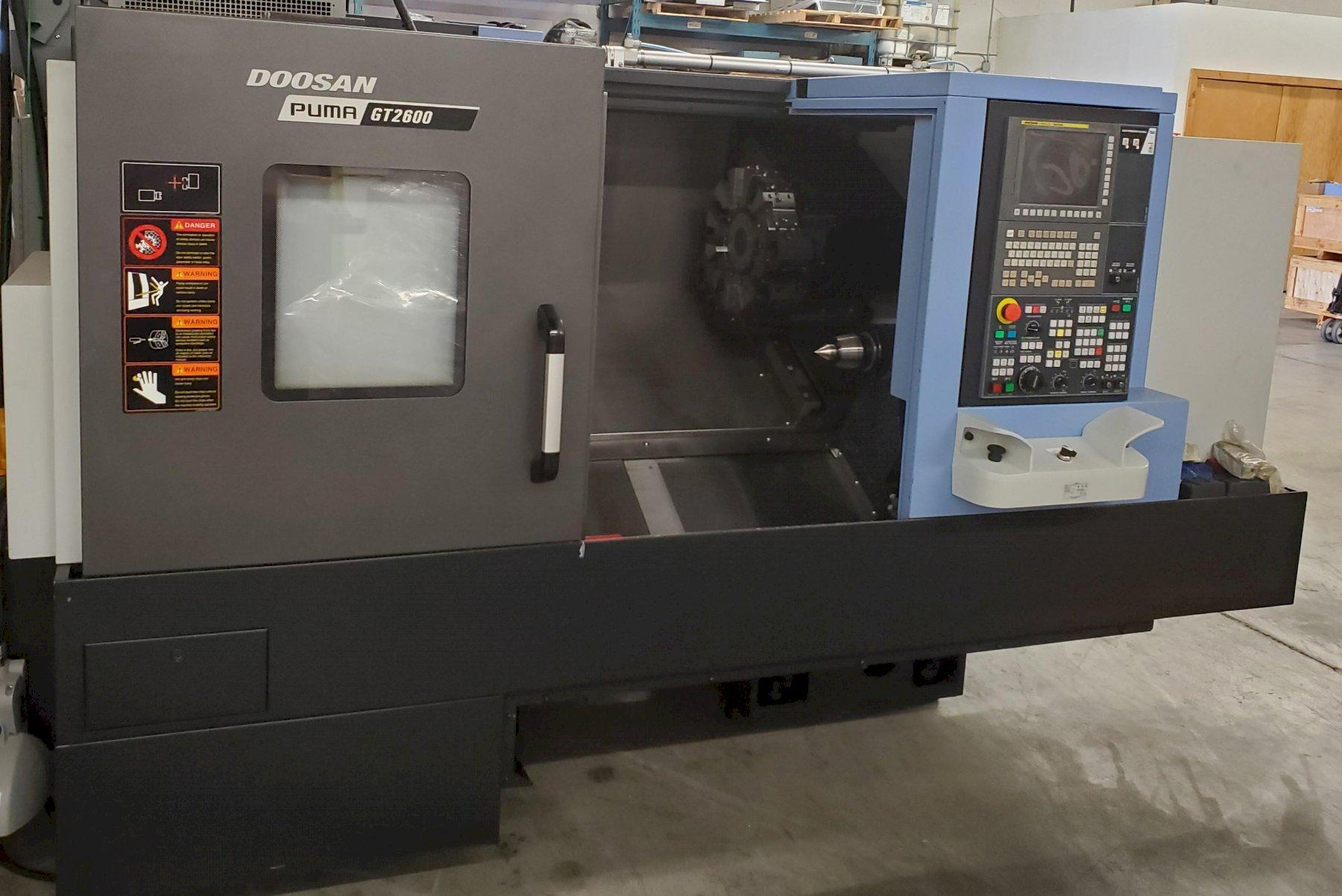 Doosan Puma GT-2600 Turning Center