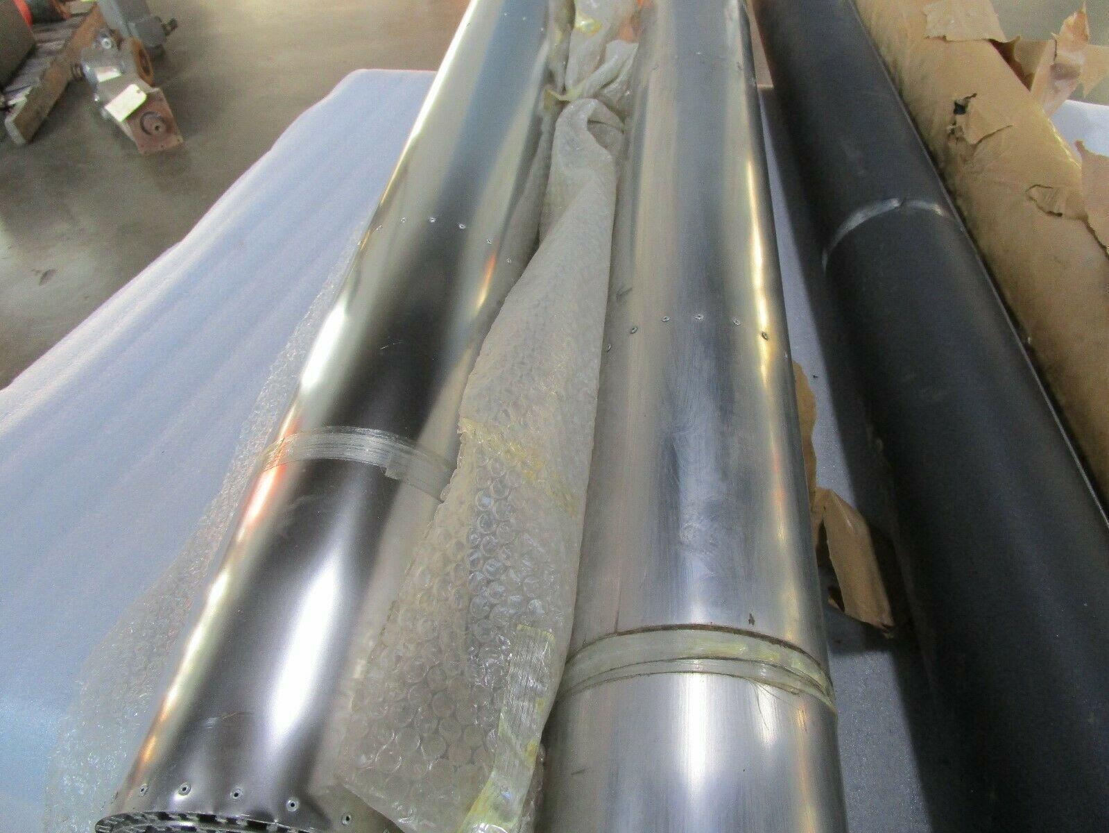 Cincinnati Milacron Machine Roller Shade Way Guard 51083374 Set of 2 (L & R)