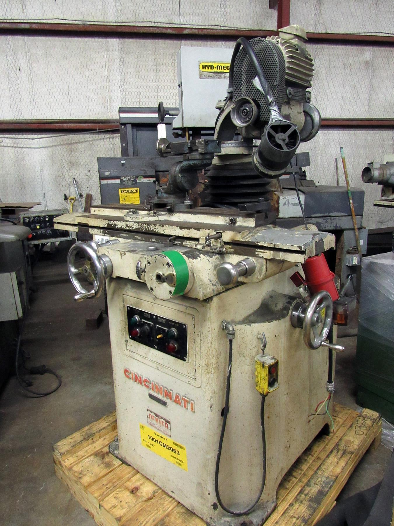 USED, CINCINNATI TOOL AND CUTTER GRINDER