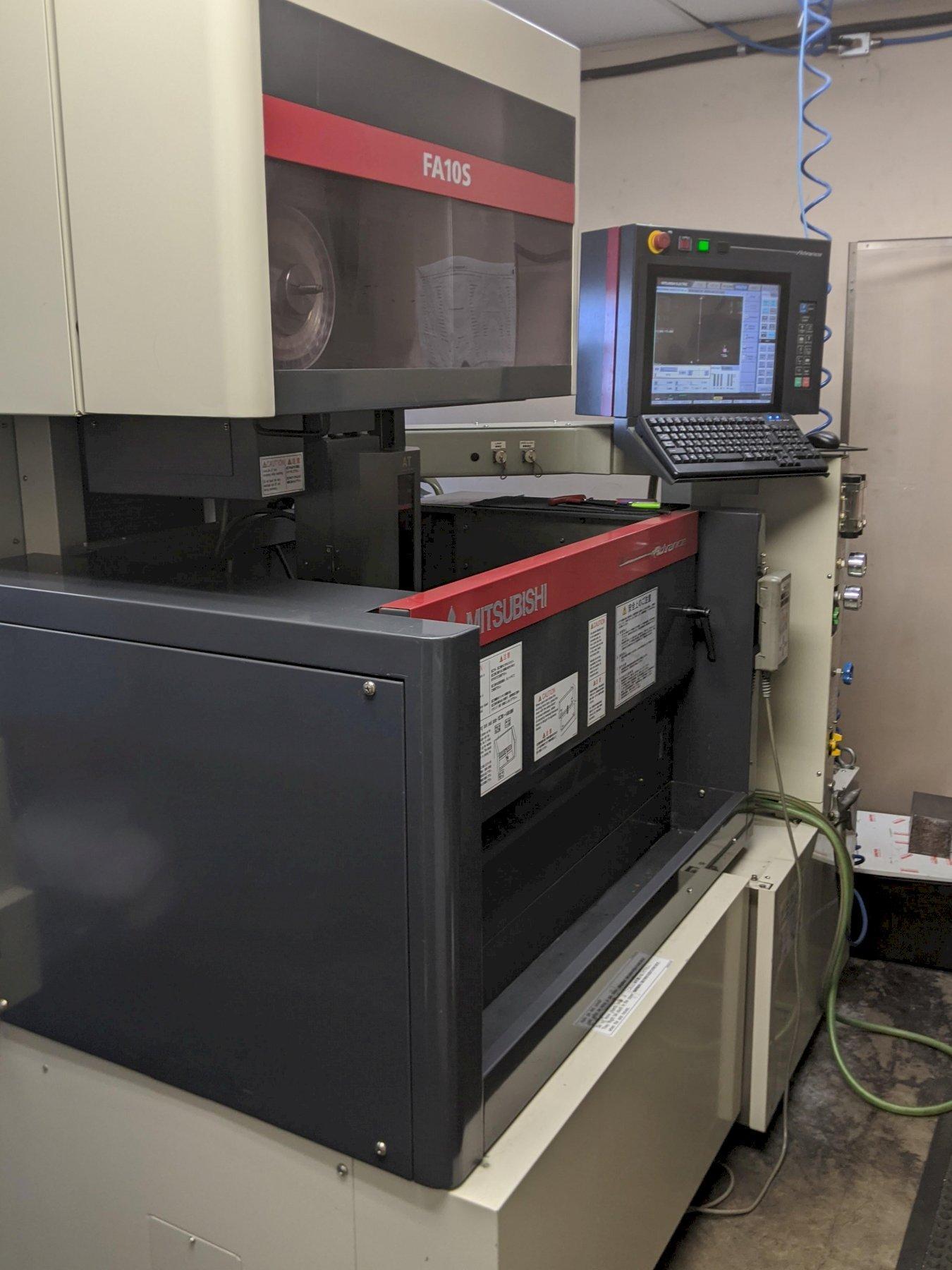 Mitsubishi FA/10-S Advanced CNC Wire EDM, W31FSA-2 Control, 14