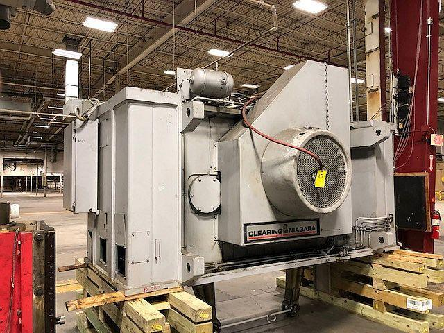 250 ton Niagara SE2-250-96-54 Straight Side Press, New 1999