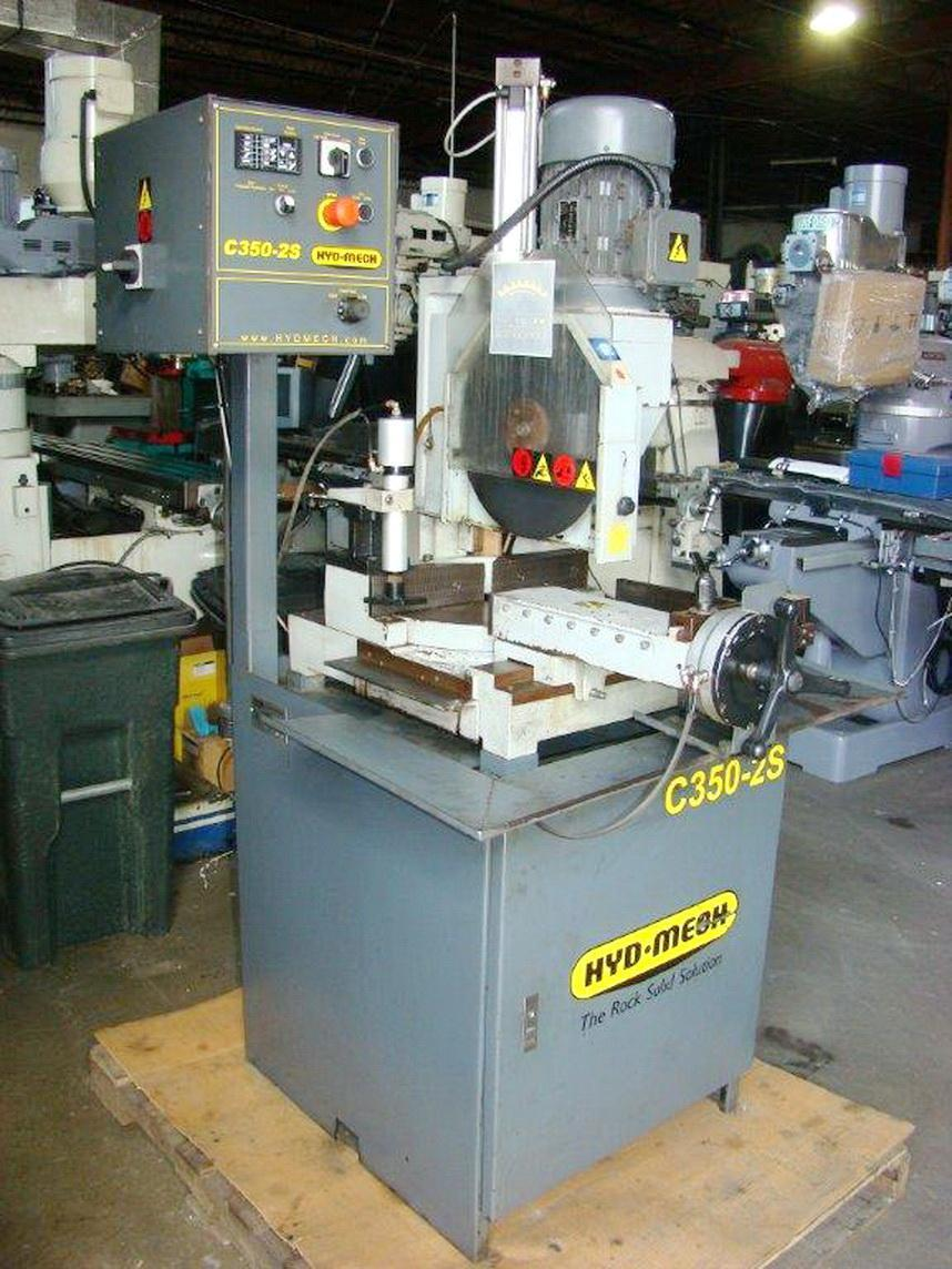 "HYD-MECH 4-1/2"" Tube C350-2S Cold Saw, 2006"