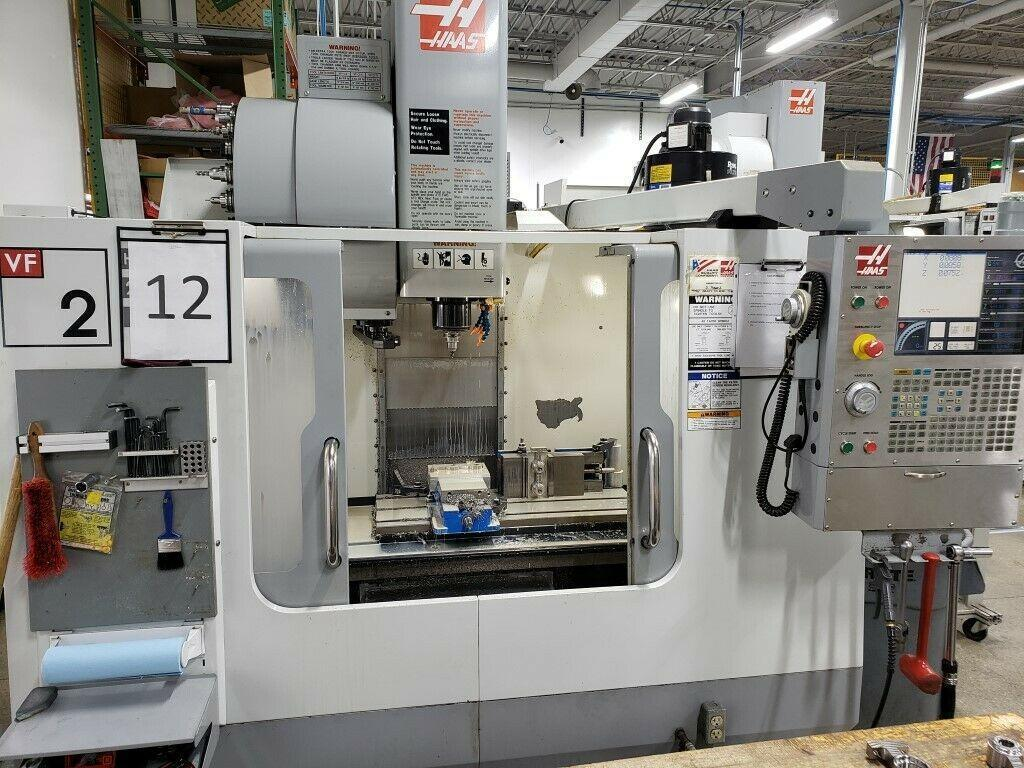 Haas VF-2B Vertical Machining Center