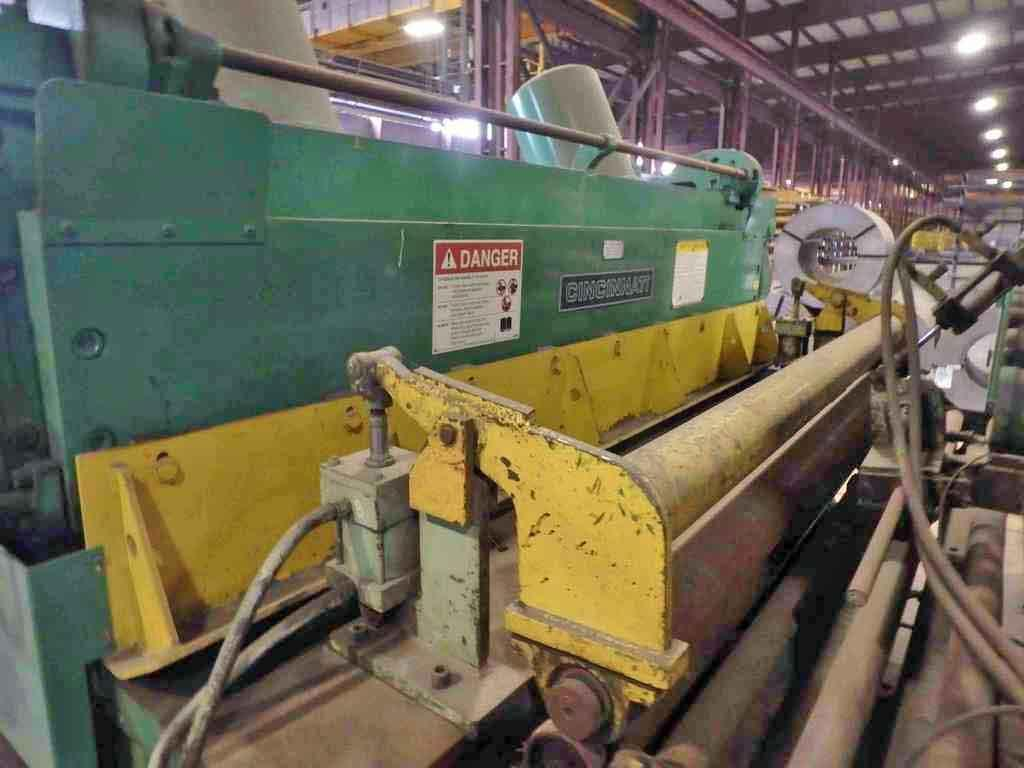 "0.250"" x 8' Cincinnati Power Sq. Shear"