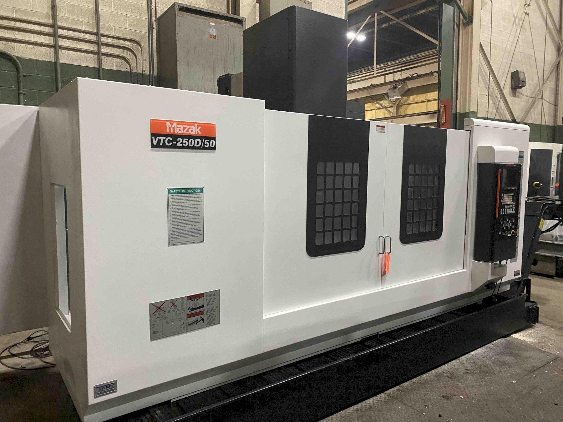 Mazak VTC250D/50 CNC Vertical Machining Center, Mazatrol, 69