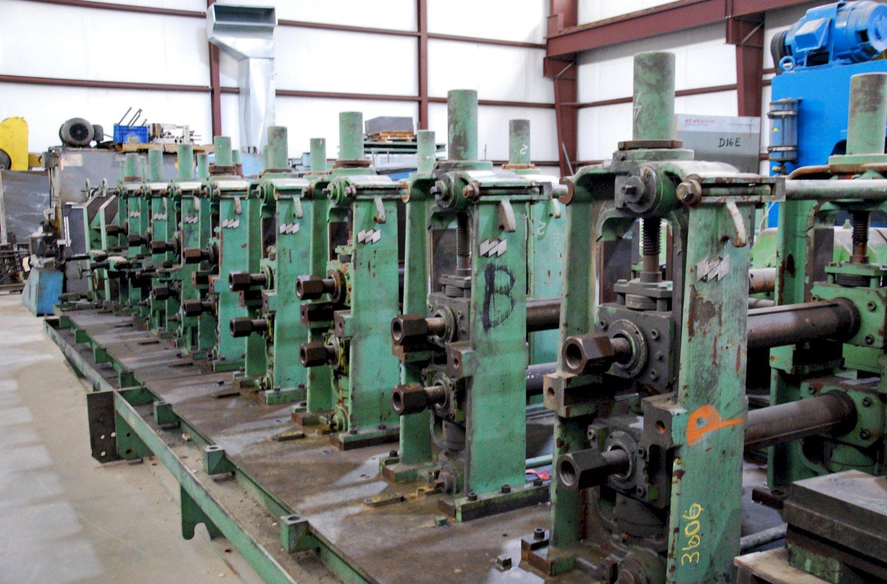 Heavy Gauge Rollformer - 8 Stand x 4.3″ VOEST ALPINE