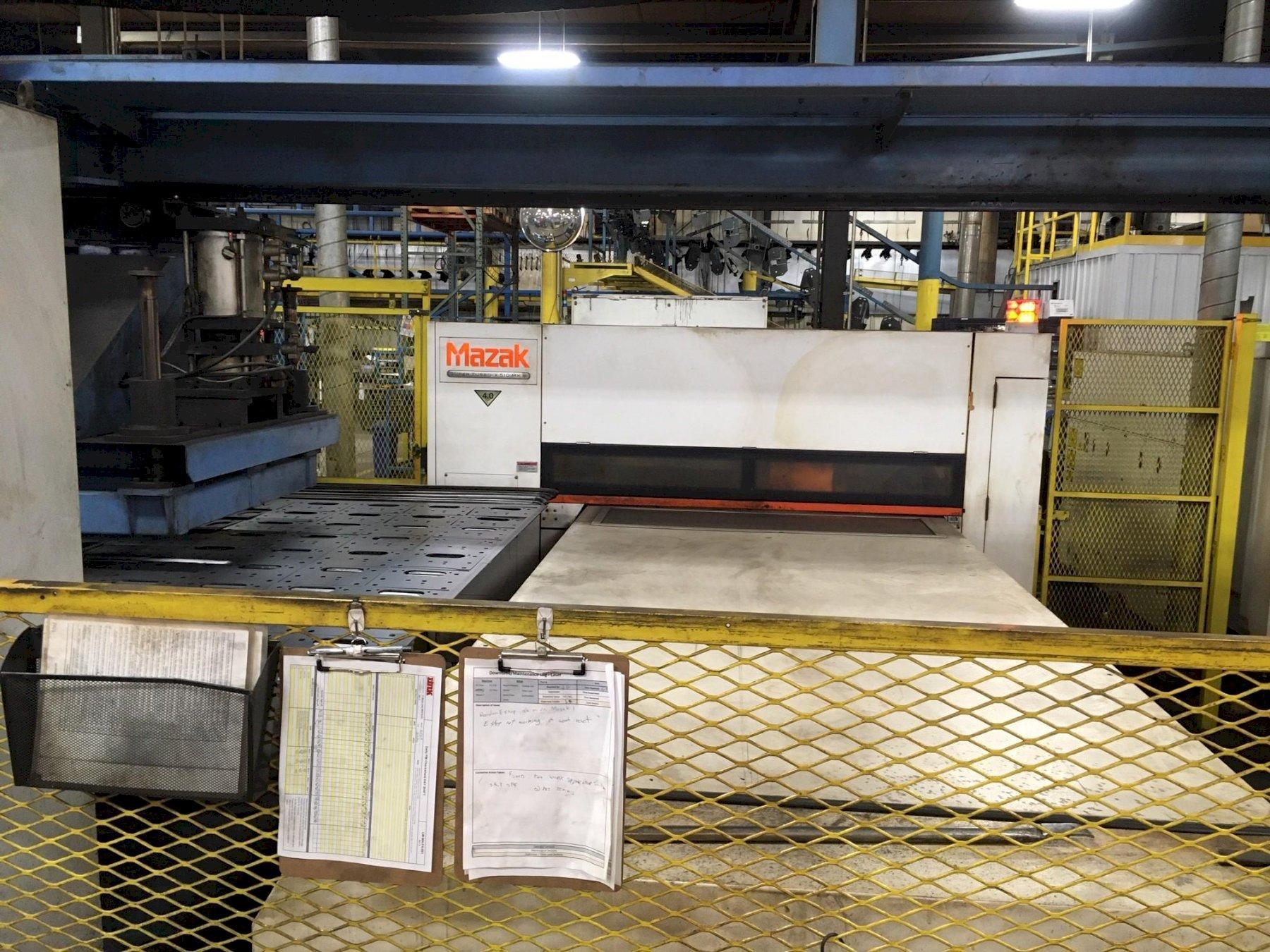 2012 Mazak STX510 Mark-III, 5x10, 4000 Watt Co2 CNC Laser