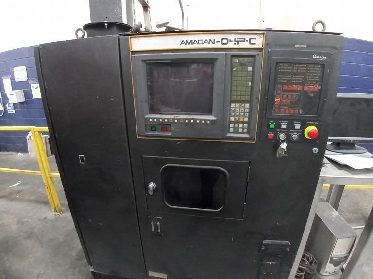 1990 Amada Pega 357, 33 Ton, 40 Station, 4x8, CNC Turret Punch