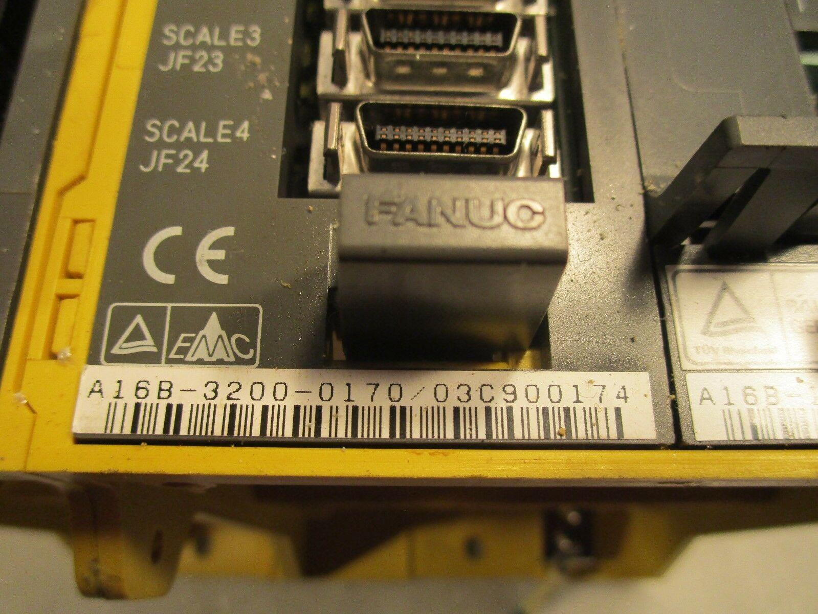 Fanuc 18i CNC Control A06B-0200-B505,A16B-121-0901,A16B-3200-0170,A16B-2203-0200