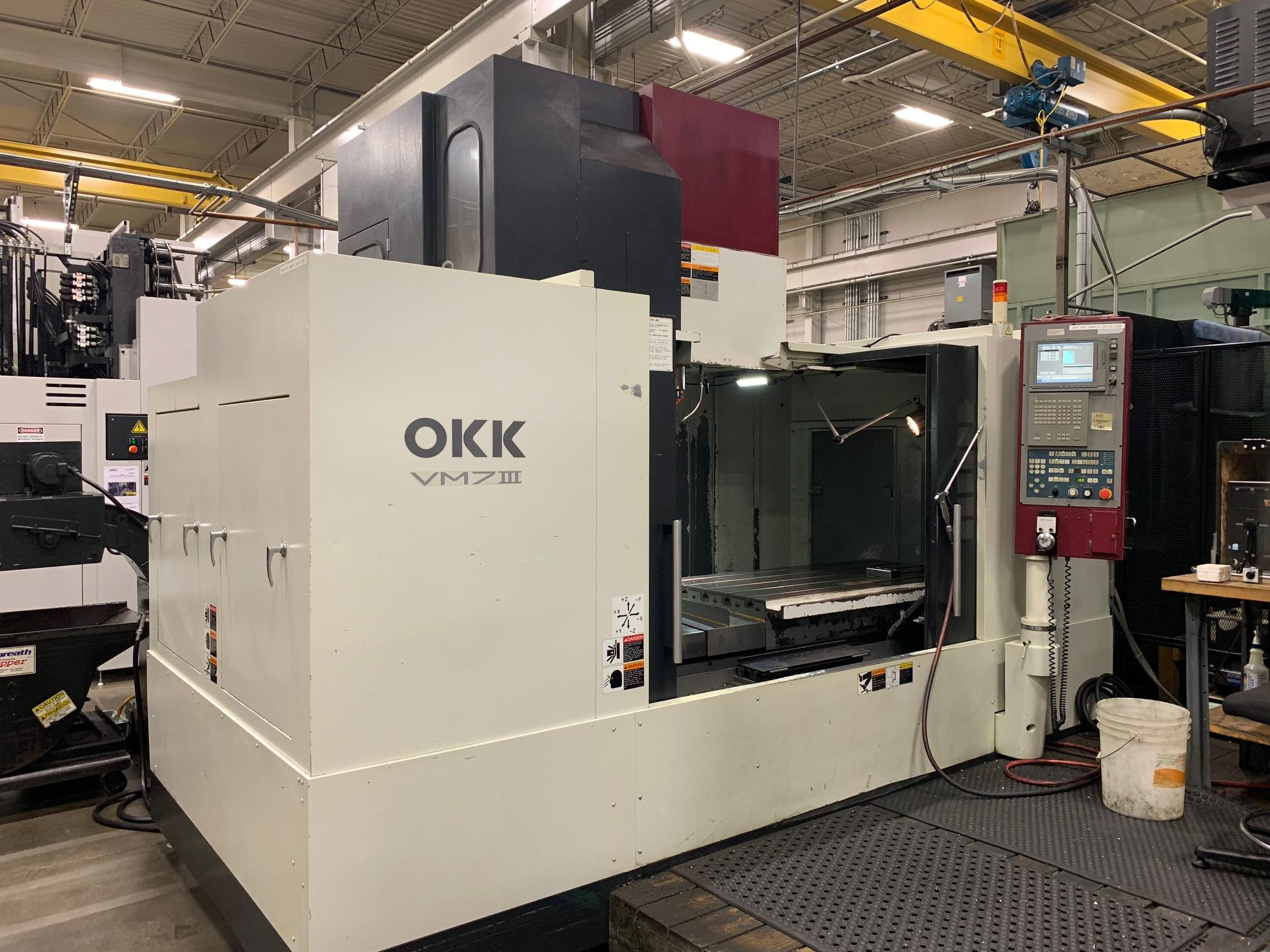 2006 OKK VM-7 III - Vertical Machining Center