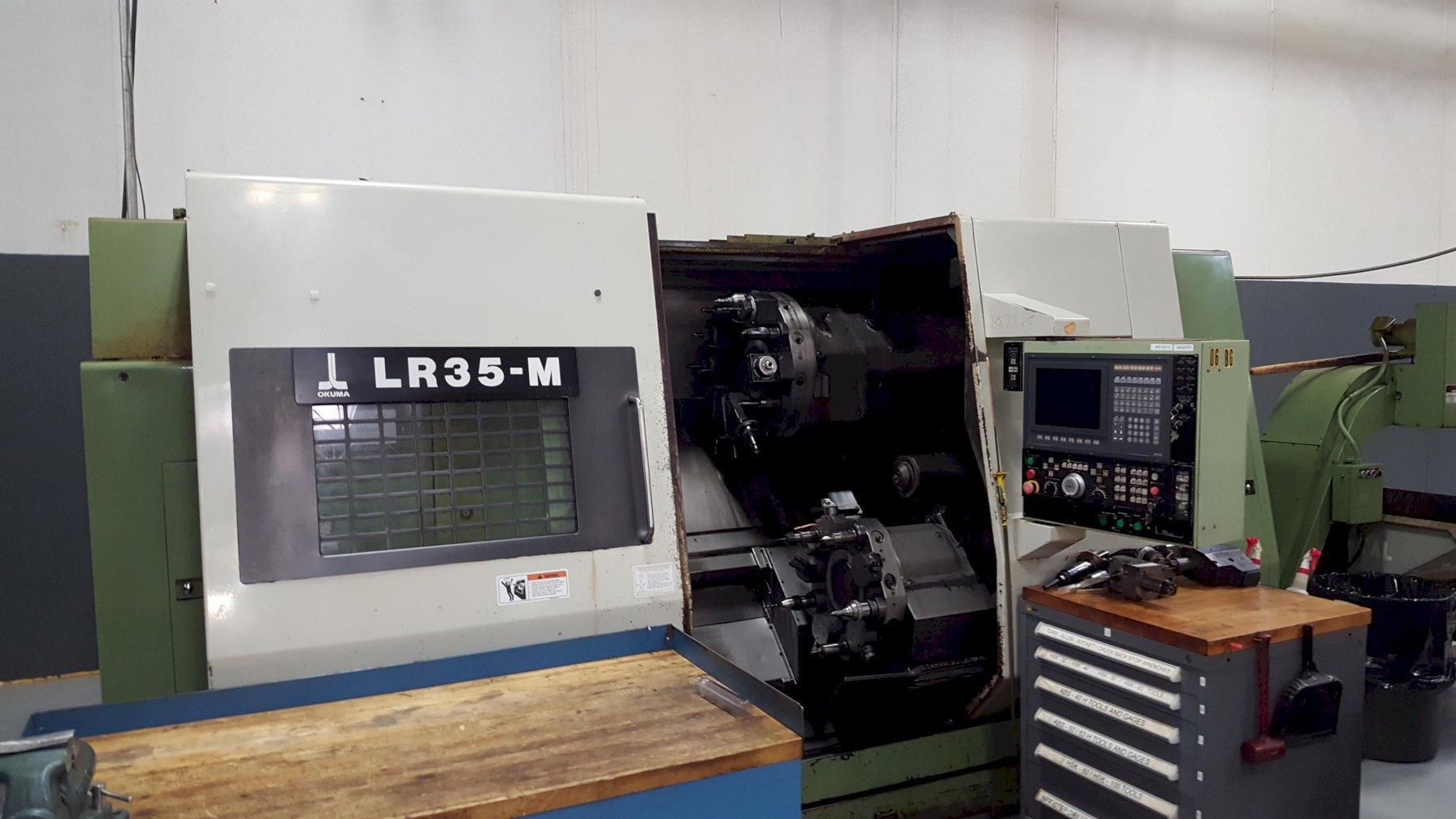 Okuma LR35-M 4-axis CNC Turning Machine W/live Milling