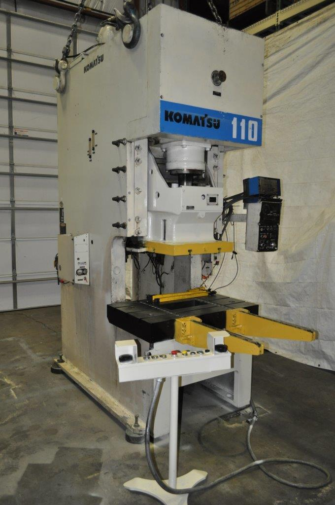 121 Komatsu Gap Frame Press