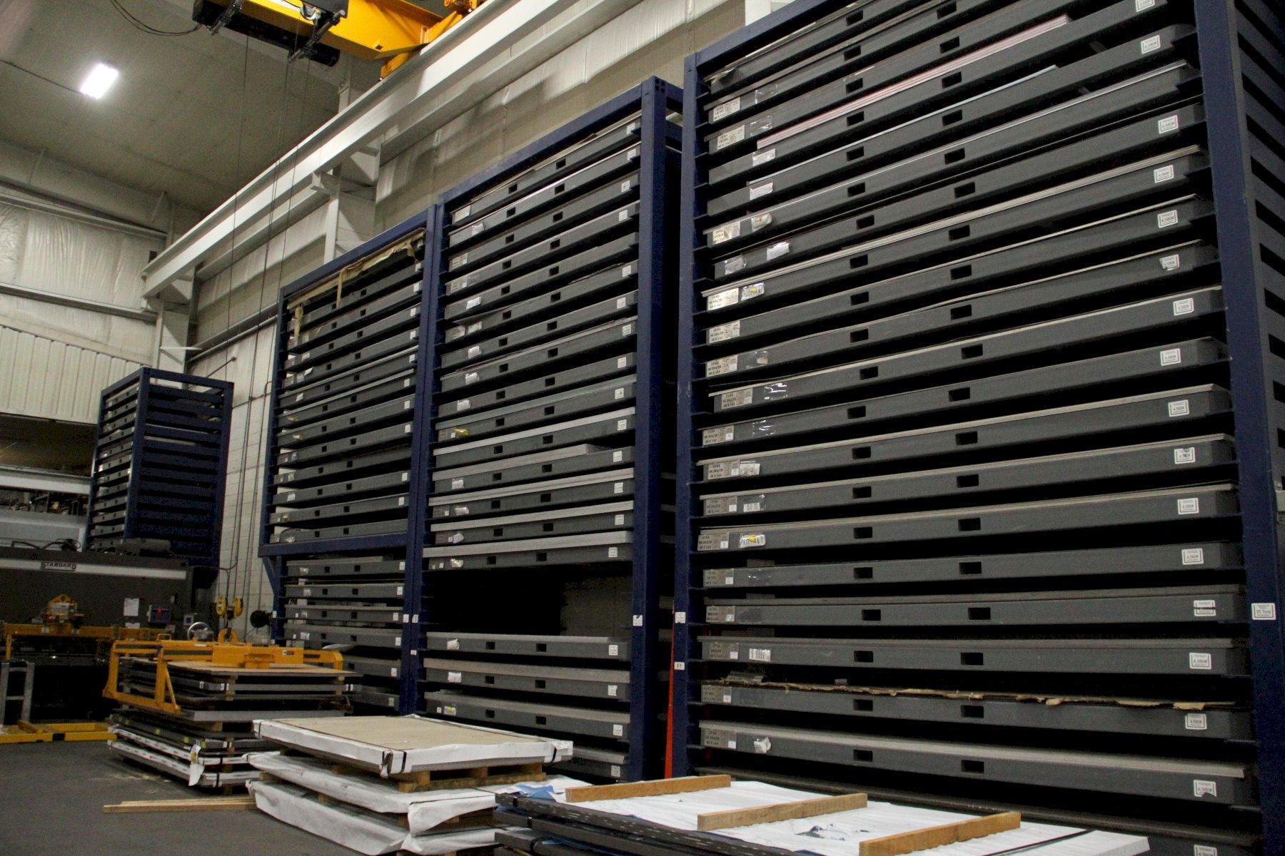 2017 SturdyBuilt Multiple Size Storage Shelving Units