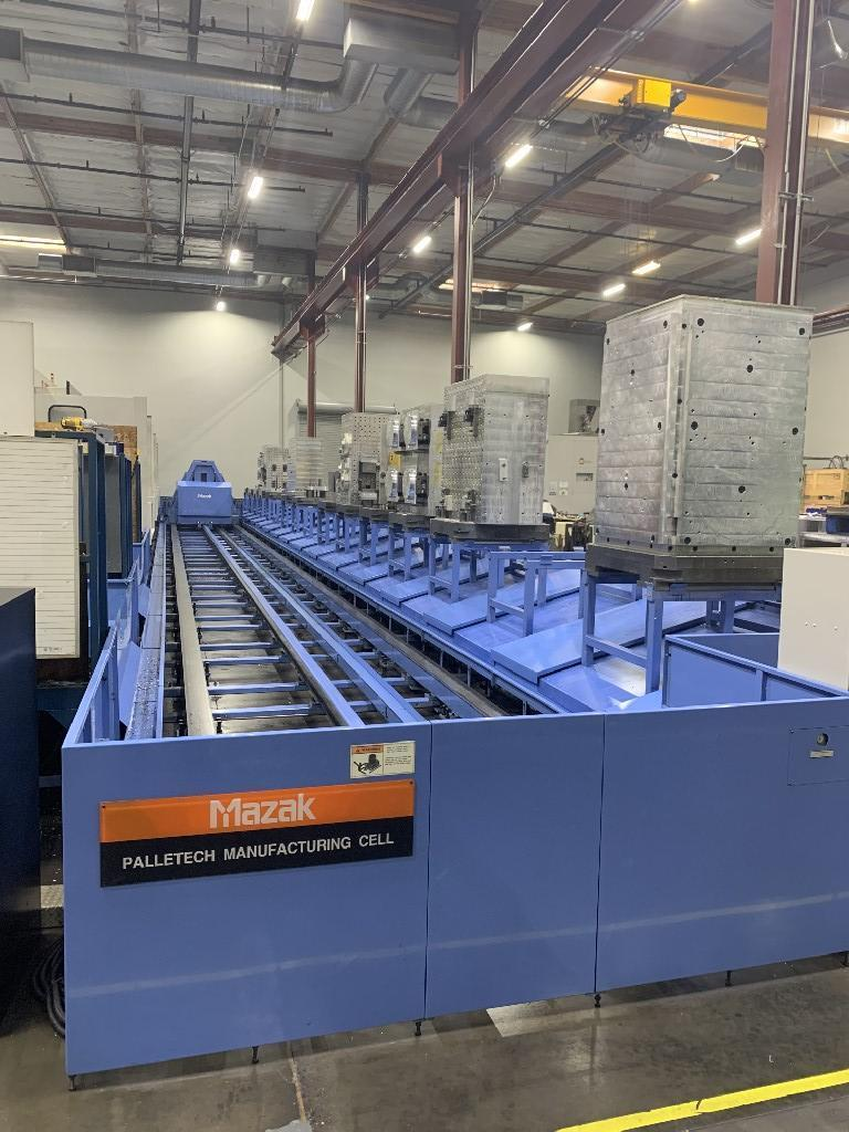 Mazak FH-1080 3-Machine Cell w/ 16 Pallets