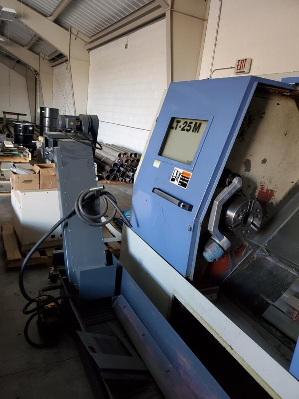 LEADWELL LT-25M CNC TURNING CENTER