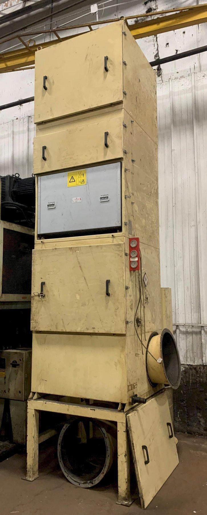 10 HP ABSOLENT MODEL ODR 3000 DUST / MIST COLLECTOR: STOCK #12380